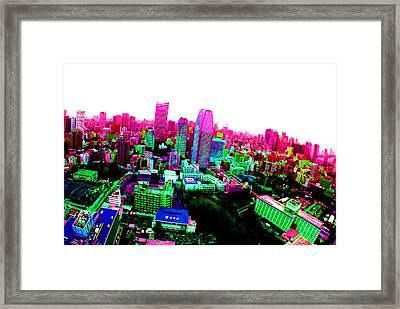 Minato Tokyo Framed Print by Jera Sky