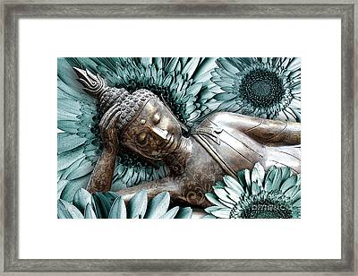 Mind Bloom Framed Print by Christopher Beikmann