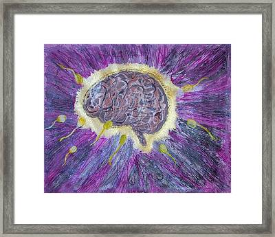 Mind Blowing Framed Print by Ela Earnberg