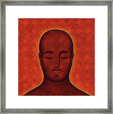 Mind Circles Framed Print