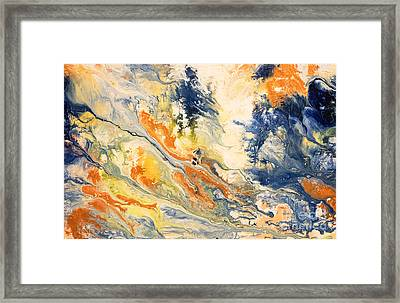 Mind Flow Framed Print