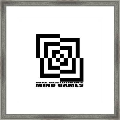 Mind Games 10se Framed Print by Mike McGlothlen