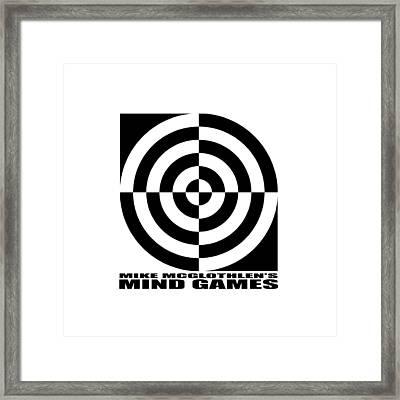 Mind Games 1se Framed Print by Mike McGlothlen