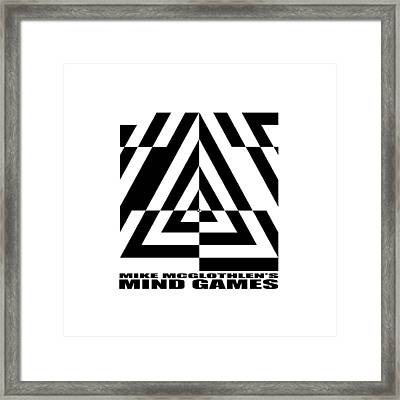 Mind Games  21se Framed Print by Mike McGlothlen