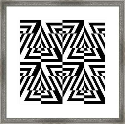 Mind Games 22 Framed Print by Mike McGlothlen