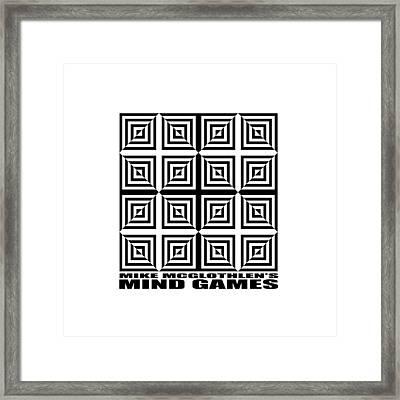 Mind Games 28se Framed Print by Mike McGlothlen