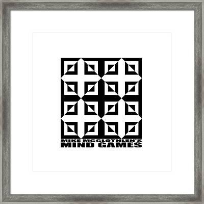 Mind Games 37se Framed Print by Mike McGlothlen
