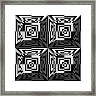 Mind Games 3d 1b Framed Print by Mike McGlothlen