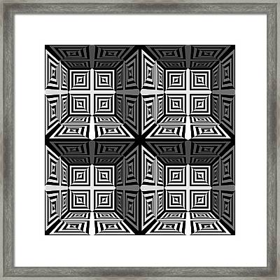 Mind Games 3d 2b Framed Print by Mike McGlothlen