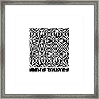 Mind Games 61se 2 Framed Print by Mike McGlothlen