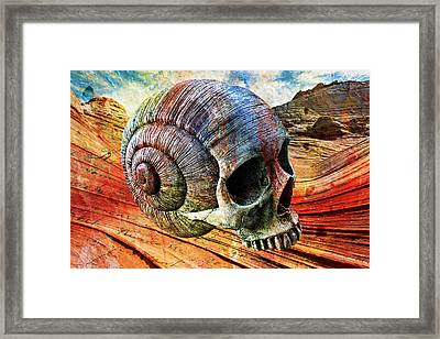 Mind Melting Framed Print