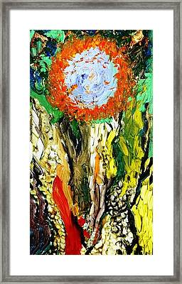 Mind Of The Forest Framed Print by Amy Drago