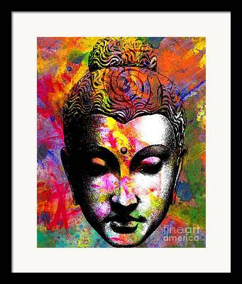 Buddah Framed Prints