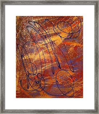 Mind Reflection  Framed Print