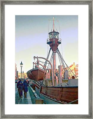 Mind Your Heads Framed Print by Dorothy Berry-Lound