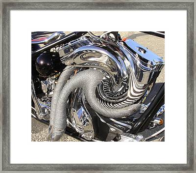 Mindbender Framed Print by Russ Mashford