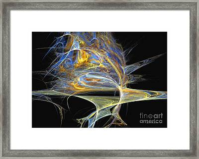 Mindblow Framed Print by Sipo Liimatainen