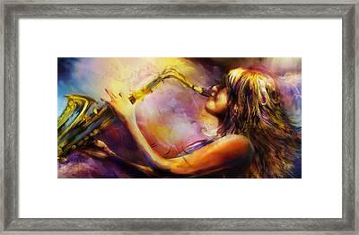 Mindi Framed Print by Mike Massengale