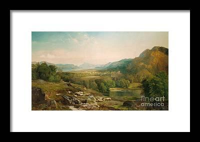 Moorland Framed Prints