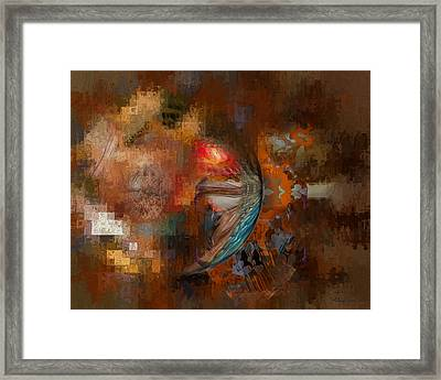 Minds Eye Framed Print