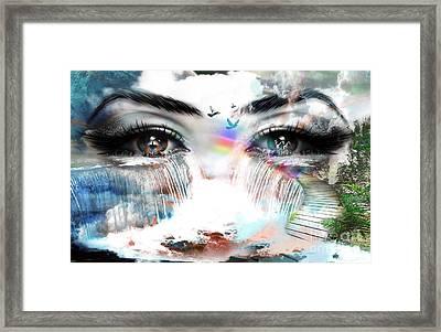 Eyes Of Mind  Framed Print