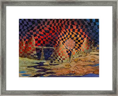 Mindscape Framed Print by Linda L Doucette
