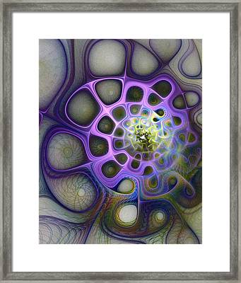 Mindscapes Framed Print by Amanda Moore