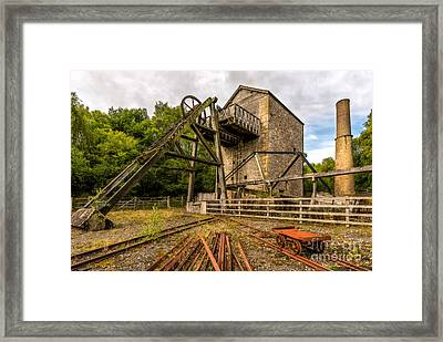 Minera Mine Framed Print
