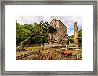 Minera Mine Framed Print by Adrian Evans