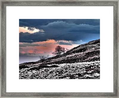 Minera Sunset 3 Framed Print