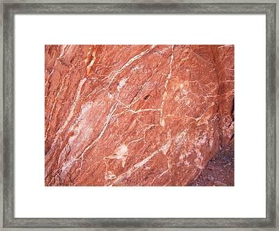 Minerals Framed Print by Trenton Heckman
