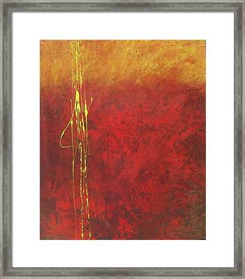 Miner's Gold Framed Print by Carrie Allbritton