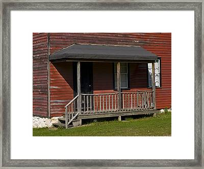 Miners Home In Eckley Village Pennyslivia Framed Print by Bob Hahn