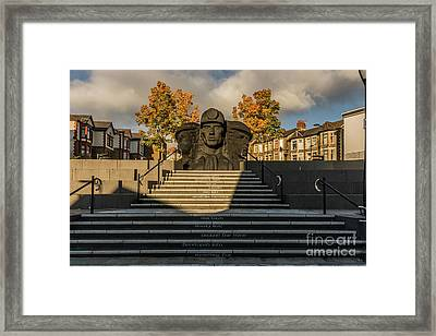 Miners In The Autumn 2 Framed Print