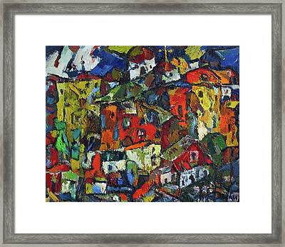 Miners' Little Town Framed Print by Ivan Filichev