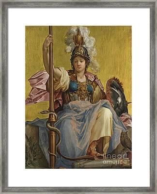 Minerva Framed Print by Johan Sylvius