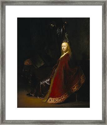 Minerva Framed Print