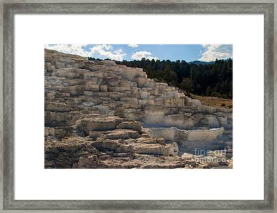 Framed Print featuring the photograph Minerva Terrace by Charles Kozierok