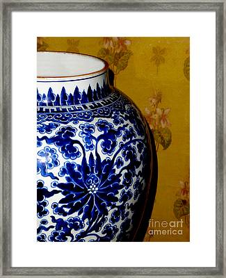 Ming Vase Framed Print by Al Bourassa