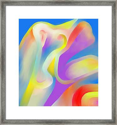 Mingling Framed Print by Peter Shor