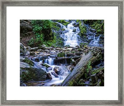 Mingo Falls Two Framed Print
