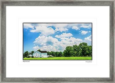 Mingoville Clouds Framed Print