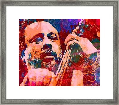 Mingus  Framed Print by Brian Broadway