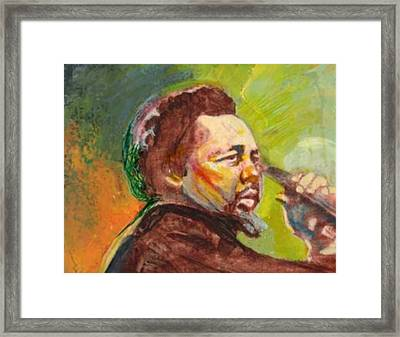 Mingus Framed Print by Michael Facey