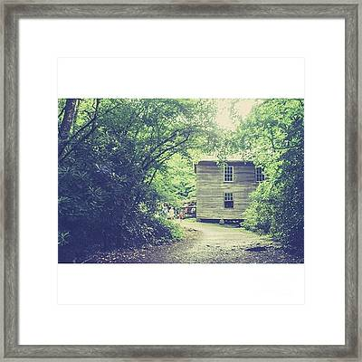 Mingus Mill Great Smoky Mountains Framed Print
