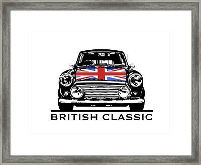 Mini British Classic Framed Print