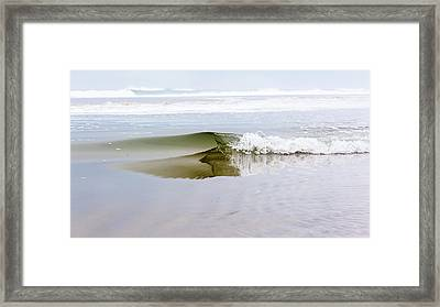 Mini Glass Wave Framed Print