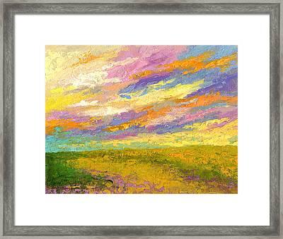 Mini Landscape V Framed Print