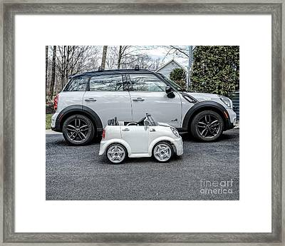 Mini Mini Framed Print by Edward Fielding