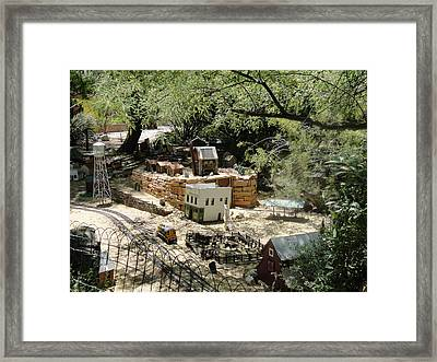 Mini Town Framed Print